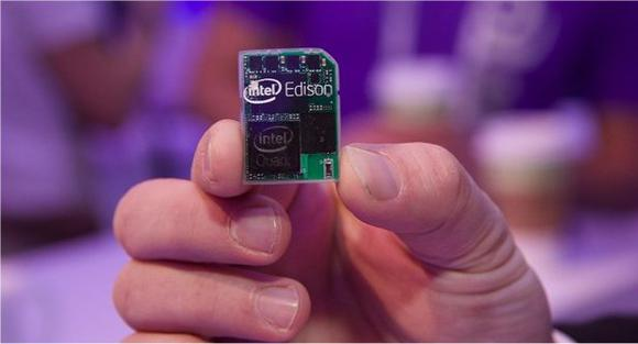 Intel's Edison (courtesy Intel website)